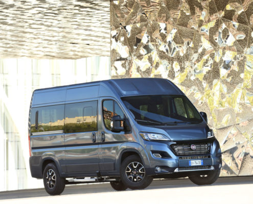Transportermodelle von Fiat Professional jetzt auch mit Euro 6-Turbodieseln